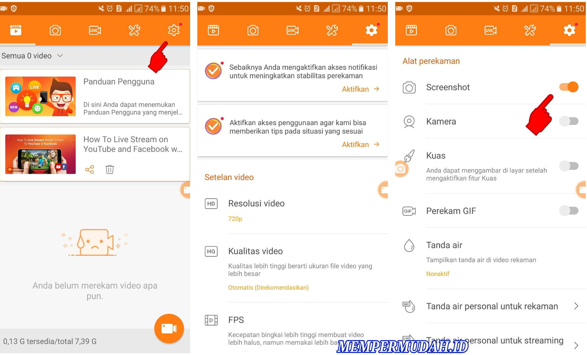 Trik Mengambil Screenshot Semua Aplikasi di Android