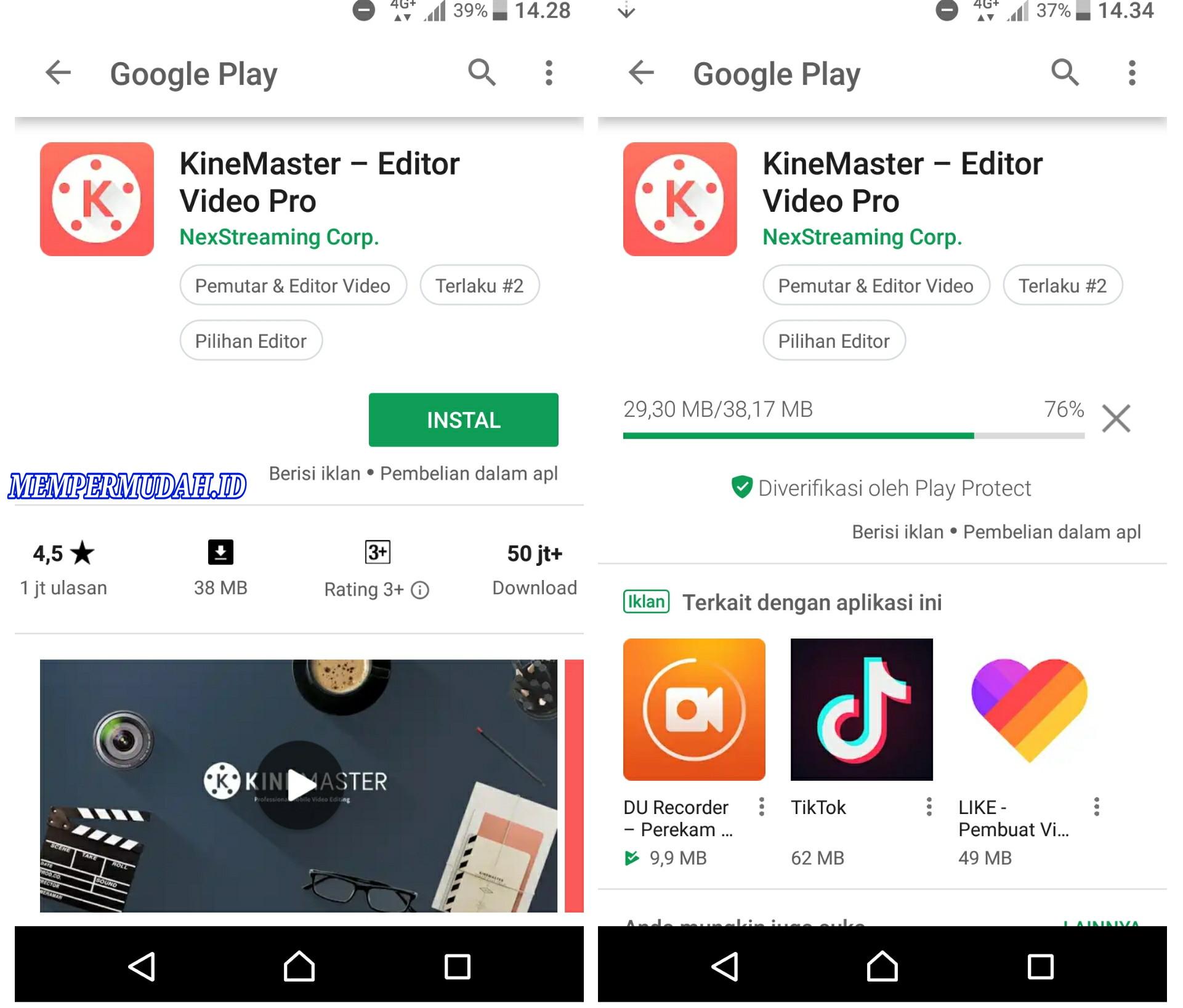 Cara Memasukan Video Kecil Ke Dalam Video Di Hp Android Mempermudah Id Mempermudah Id