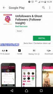 Cara Cek Instagram Yang Tidak Follback Kita via Android 5
