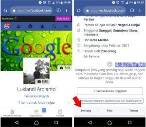 Cara Melihat Koleksi Video di Akun Facebook Kita via Android 3