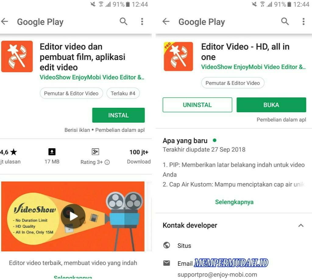 Cara Memasukan Rekaman Suara Ke Dalam Video Android Mempermudah Id Mempermudah Id