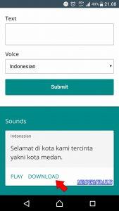 Cara Merekam Suara Google Translate Dari HP Android 3