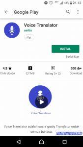 Cara Merekam Suara Google Translate Dari HP Android 5