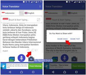 Cara Merekam Suara Google Translate Dari HP Android 7