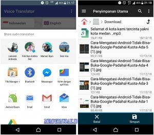 Cara Merekam Suara Google Translate Dari HP Android 8