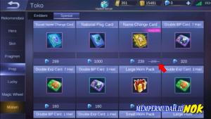 Cara Mengganti Nama di Mobile Legends Tak Terbatas 5