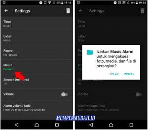 Cara Buat Alarm Bangun Tidur Dengan Lagu Sendiri di Android 3