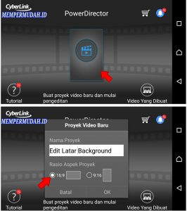 Cara Edit Background Latar Belakang Video di Ponsel Android 2
