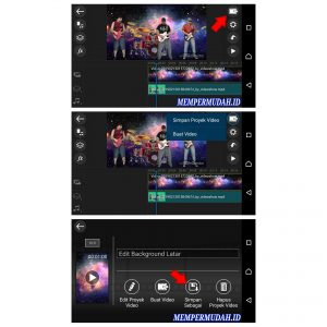 Cara Edit Background Latar Belakang Video di Ponsel Android 8