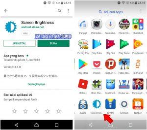 Trik Menambahkan Kecerahan Layar Android Jadi Lebih Terang 2