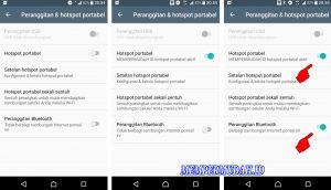 Cara Berbagi Koneksi Internet di HP Android via Koneksi Bluetooth 168