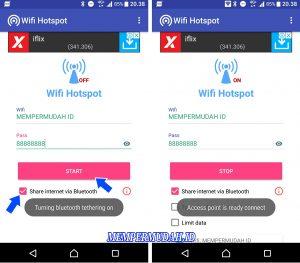 Cara Berbagi Koneksi Internet di HP Android via Koneksi Bluetooth 3