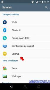 Cara Berbagi Koneksi Internet di HP Android via Koneksi Bluetooth 88