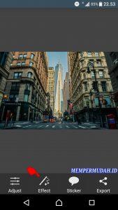 Cara Edit Foto Efek Cembung (Go Pro) di Smartphone Android 2