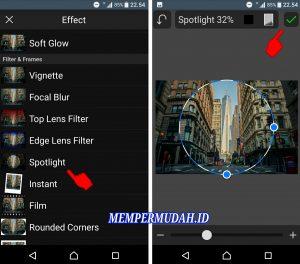 Cara Edit Foto Efek Cembung (Go Pro) di Smartphone Android 3