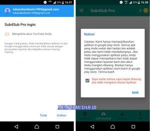 Cara Menambah Subscribe YouTube Melalui HP Android 3