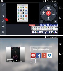 Cara Memasukan Simbol Watermark Bergerak di Video Android 5