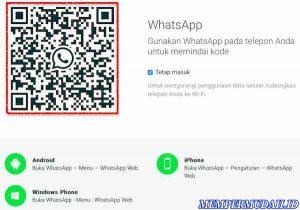 Cara Menggunakan WhatsApp via Website di Browser 3