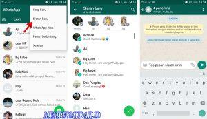 Fungsi dan Kegunaan Fitur Siaran Baru di Whatsapp Android