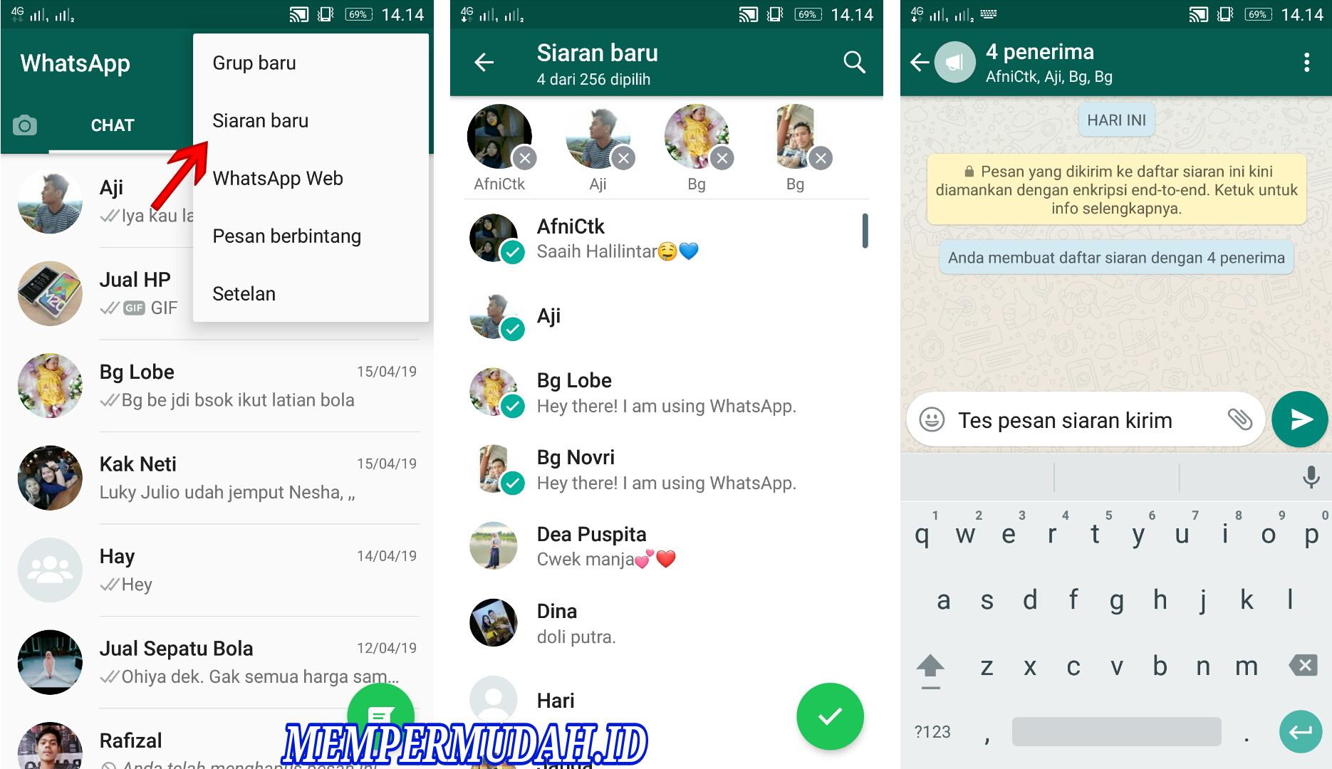 Fungsi Dan Kegunaan Fitur Siaran Baru Di Whatsapp Android Mempermudah Id Mempermudah Id