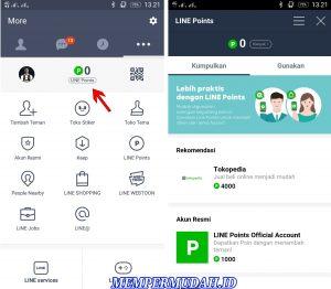 Fungsi dan Kegunaan Layanan Line Point di Aplikasi Line Android