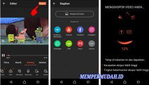 Aplikasi Edit Video DubbingMemasukan Suara di HP Android 10