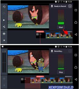Aplikasi Edit Video DubbingMemasukan Suara di HP Android 4