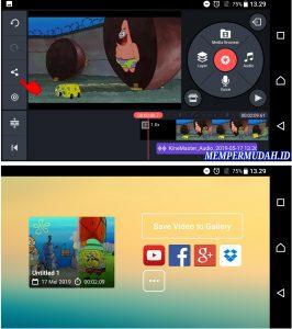 Aplikasi Edit Video DubbingMemasukan Suara di HP Android 6