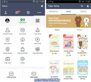Aplikasi Line Dengan Fitur Tak TerbatasUnlimited Untuk Android 5