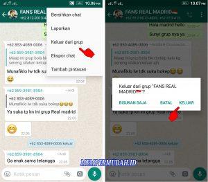Cara Melihat Pesan di Grup WhatsApp Meskipun Sudah Keluar 3