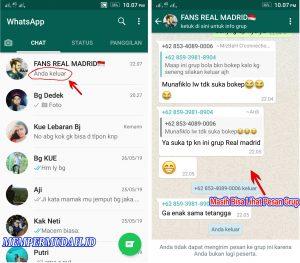Cara Melihat Pesan di Grup WhatsApp Meskipun Sudah Keluar 5