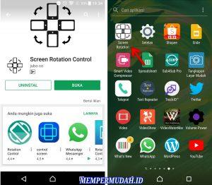 Cara Membuat LayarScreen Smartphone Android Terbalik 2