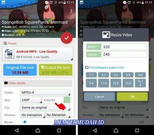 Cara Ubah Aspek Rasio Video Tanpa Harus PotongCrop di HP Android 5