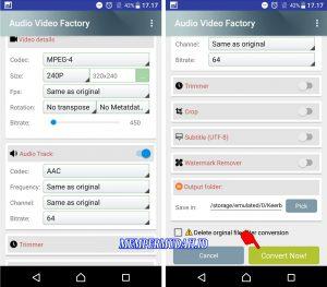 Cara Ubah Aspek Rasio Video Tanpa Harus PotongCrop di HP Android 6
