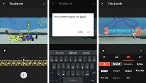 Cara Edit Video Menampilkan Terjemahan Ucapan Berbicara di Android 3