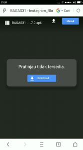 Cara Menggunakan Instagram Tema Latar Hitam Gelap di HP Android 1