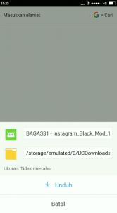 Cara Menggunakan Instagram Tema Latar Hitam Gelap di HP Android 2