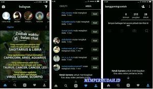 Cara Menggunakan Instagram Tema Latar Hitam Gelap di HP Android 4