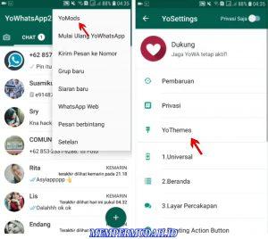 Cara Menggunakan Whatsapp Tema Latar Hitam Gelap di HP Android 3