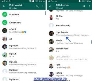 Cara Menghapus Kontak Khusus Untuk Whatsapp Saja 3