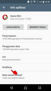 Cara Menghilangkan Notifikasi Berita Dari Opera Mini Android 4