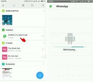 Trik Ubah Tampilan WhatsApp Android Seperti di iPhone (iOS) 3