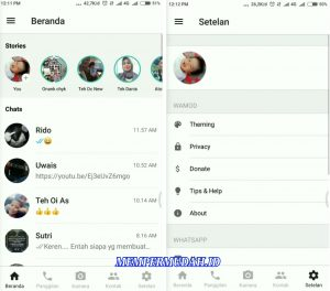 Trik Ubah Tampilan WhatsApp Android Seperti di iPhone (iOS) 6