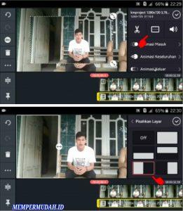 Cara Edit Buat Video Menjadi Orang Kembar via Kine Master Android 5