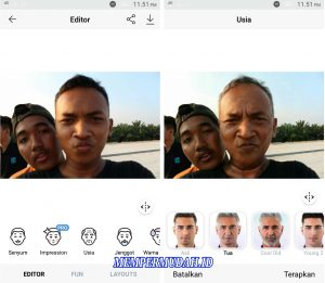 Cara Edit Foto Dengan Aplikasi Face App Tanpa Simbol (Watermark) 2