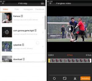 Cara Edit Video Efek Air Hujan di Smartphone Android 2