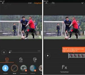 Cara Edit Video Efek Air Hujan di Smartphone Android 3