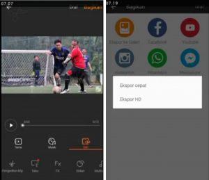 Cara Edit Video Efek Air Hujan di Smartphone Android 6