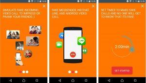 Cara Membuat Video Call Palsu di Line HP Android 3