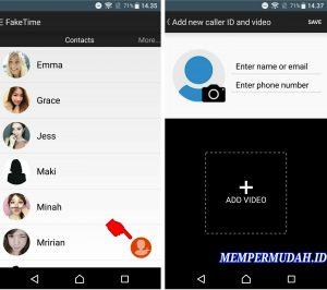 Cara Membuat Video Call Palsu di Line HP Android 4
